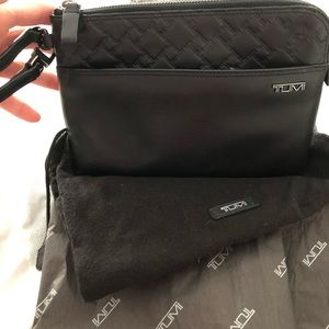 NEW! Black Leather Wallet, RFID equipped